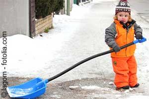 Schnee räumen lassen Steuern sparen